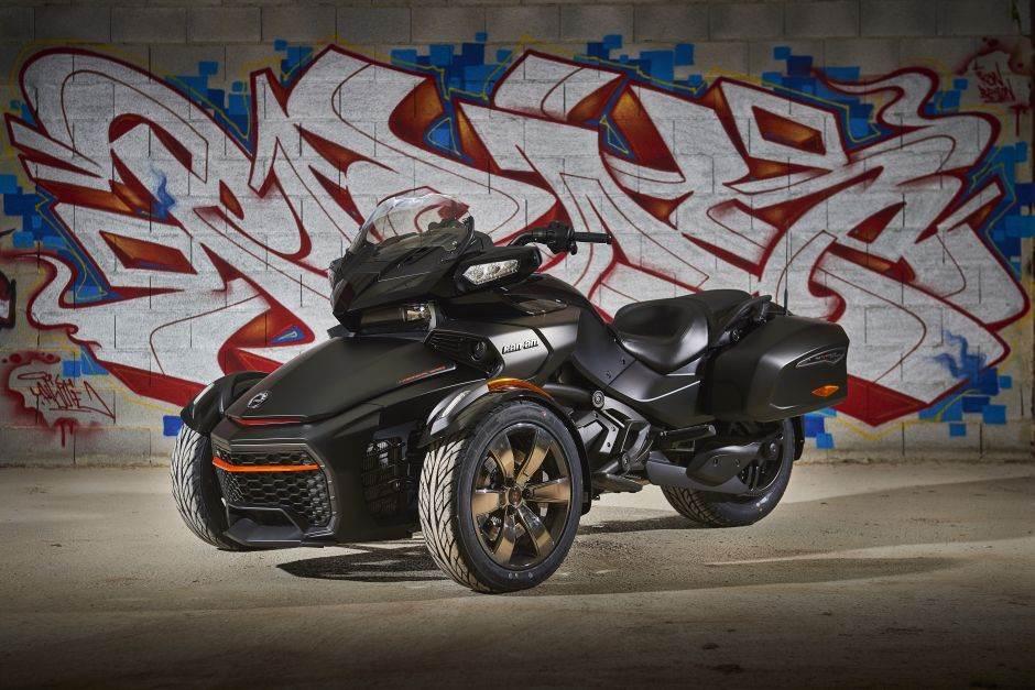 Can-Am Spyder F3 Black