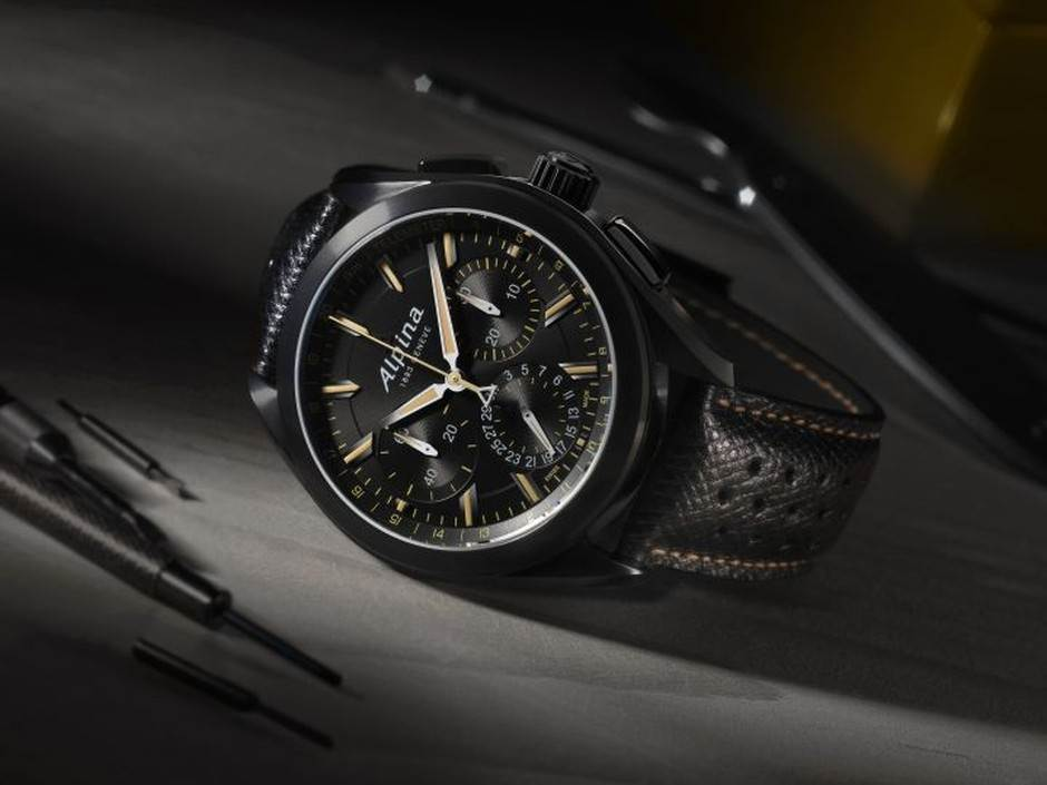 AL-760-Full-Black-Alpiner-Manufacture-Flyback-Chronograph