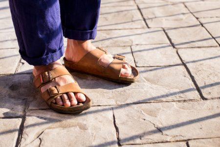 Sandalen als Style-Element