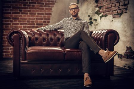 Khaki Hose für Männer