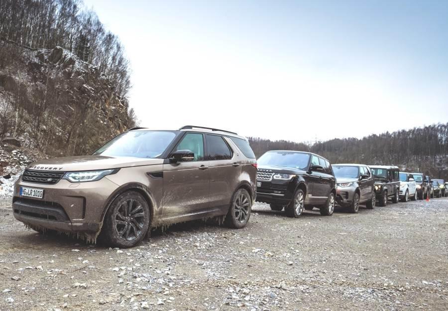 Land Rover Weltrekordversuch