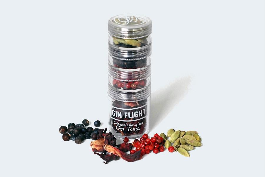 Gin Flight Gewürze zum Verfeinern von Gin Tonic