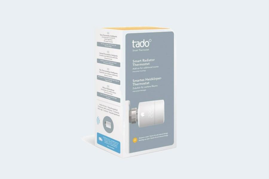 tado° Smartes Heizkörper-Thermostat (Zusatzprodukt) - intelligente Heizungssteuerung per Smartphone