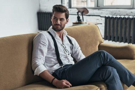Hosenträger als Trend-Accessoire des Mannes